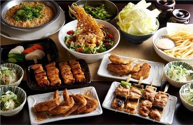 とりいちず酒場 神田北口店の食べ飲み放題コース